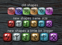 Runique - runes shapes