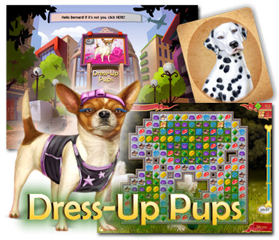 Dress-Up Pups feature image