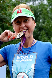 Eliza marathon World Uncovered run fog of world alternative